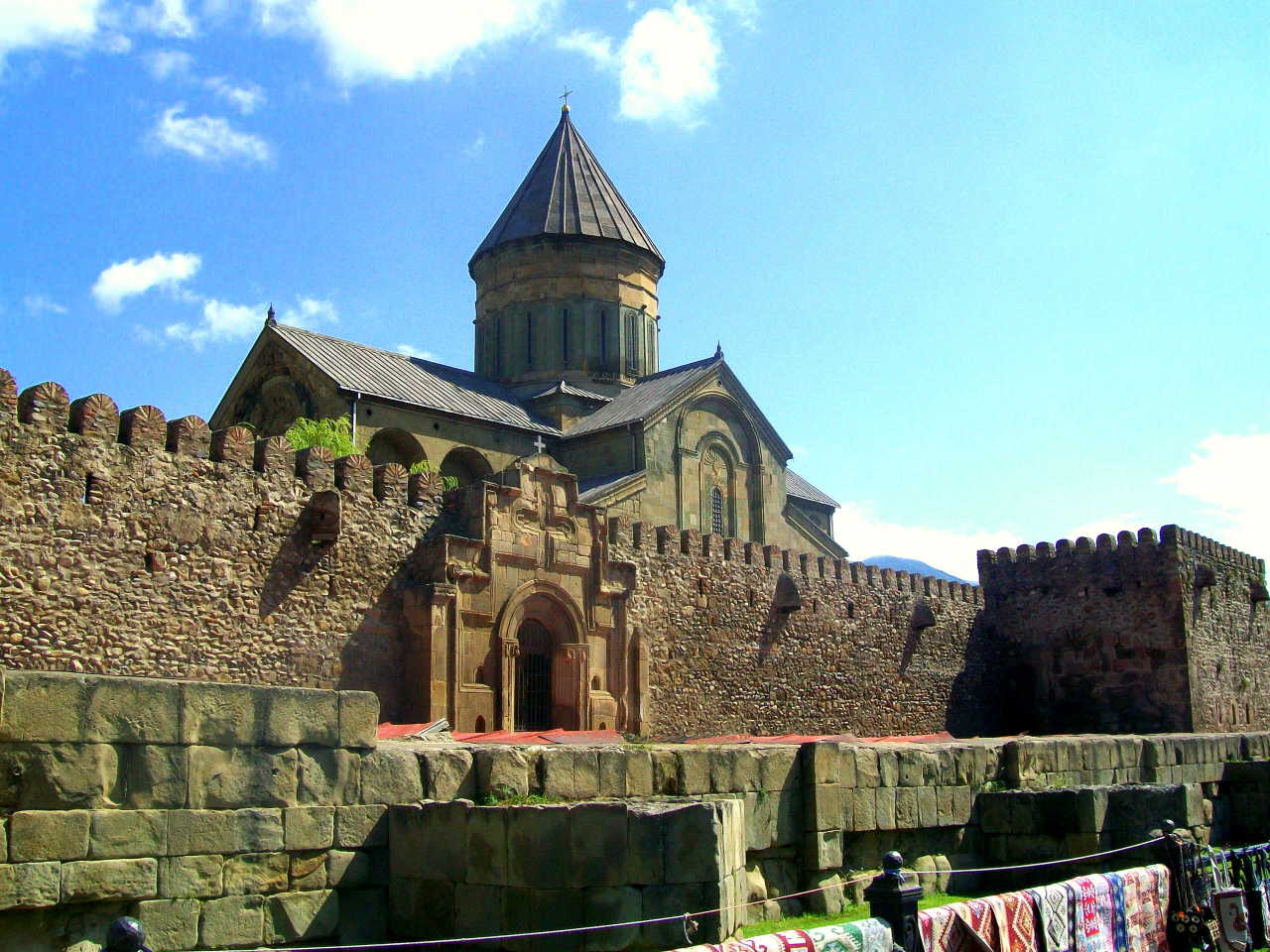 Svetitskhoveli Cathedral (Originally 4th Cen. A.D.) Orthodox Christian - Mtskheta, Georgia