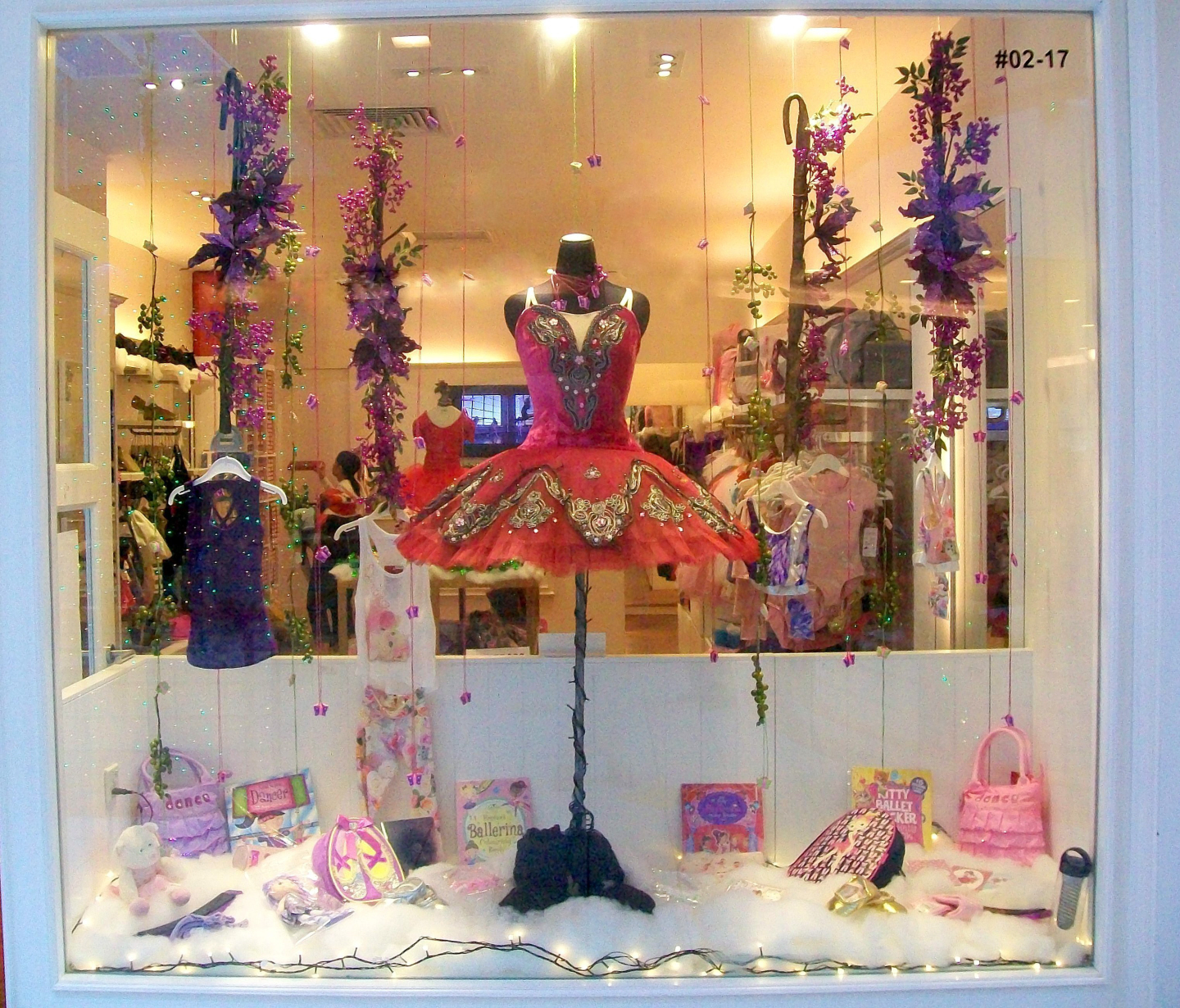 Orchard Street Mall -Ballet Shop Decked out for Christmas- Singapore