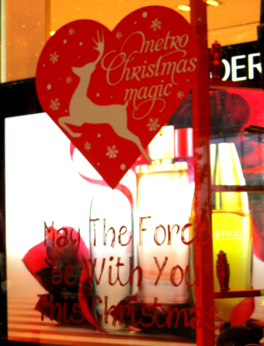 """May The Force Be With You"" -Orchard Street Christmas - Singapore"
