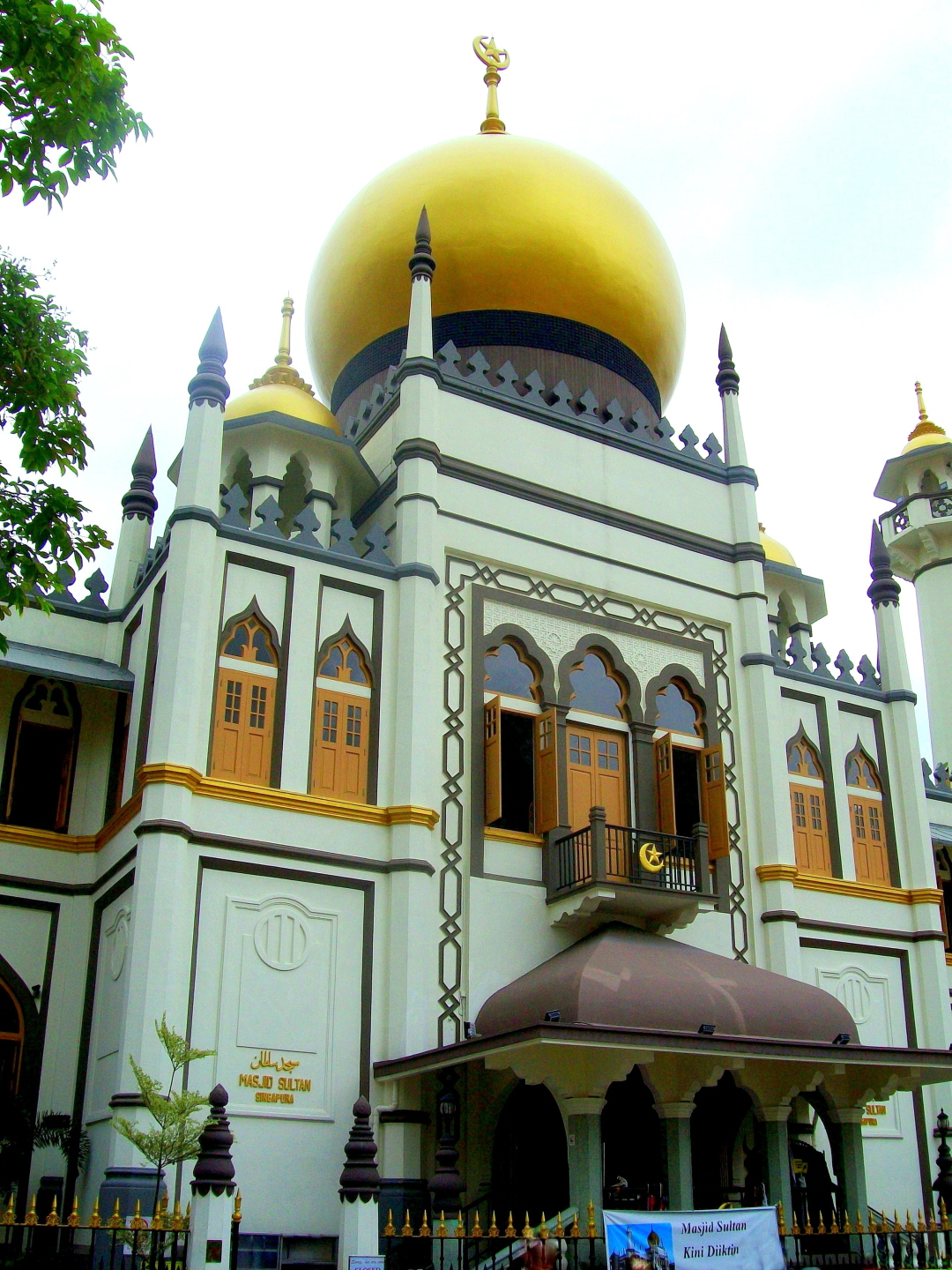 Exotic Masjid Sultan - (in the Heart of the Arab St. Tourist Center)- Singapore