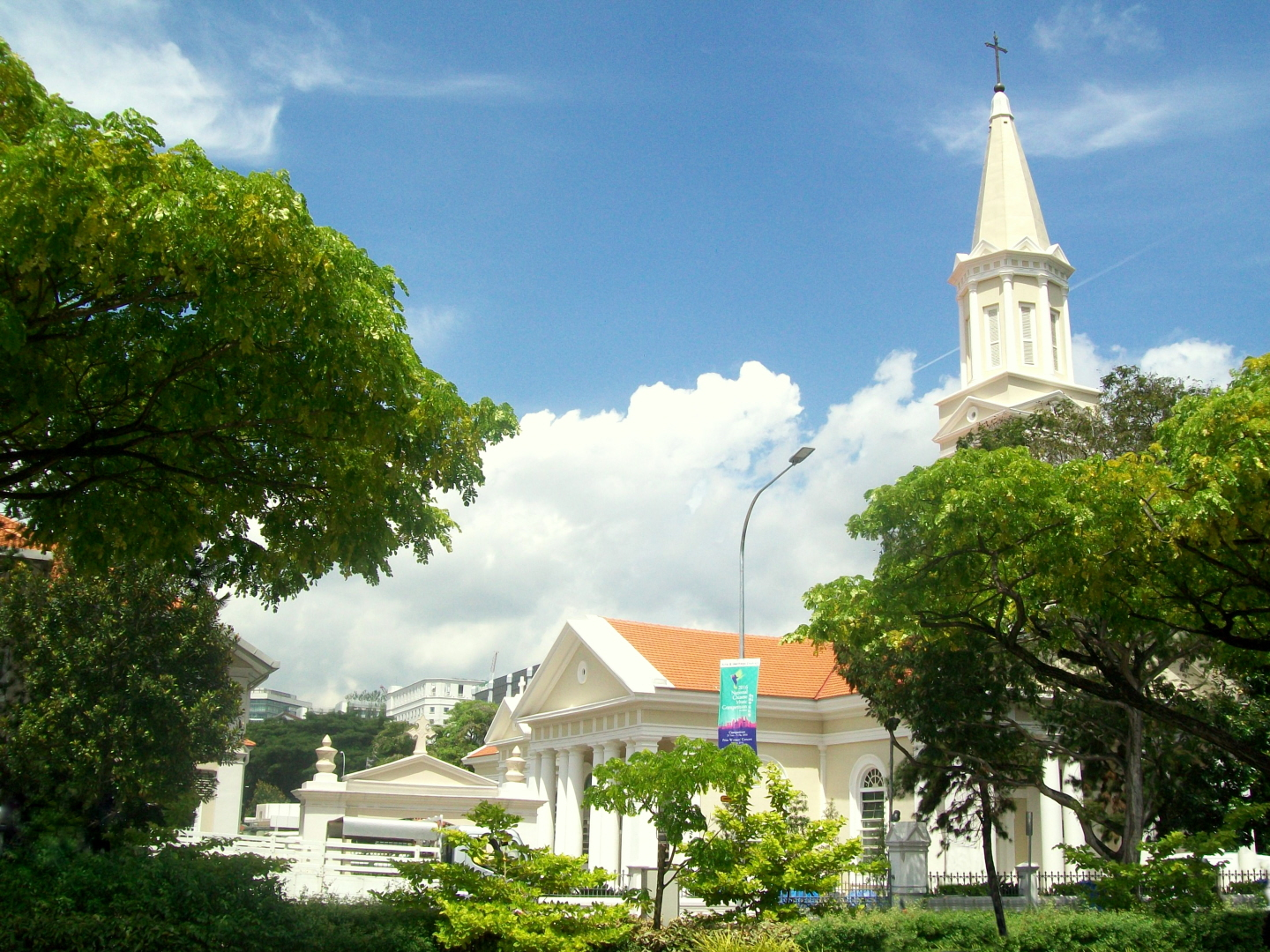 Cathedral of the Good Shepherd - Church of the Archdiocese - 1827 - Singapore