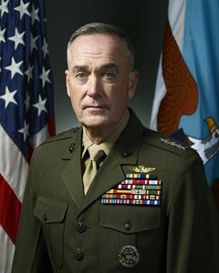 Gen. Joseph F. Dunford, Jr., Chairman, Joint Chiefs of Staff