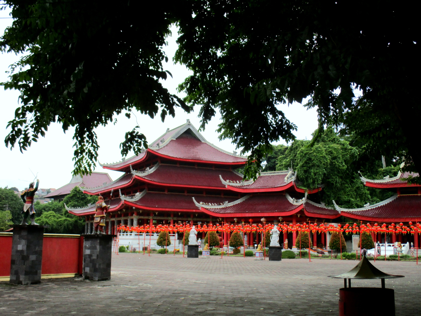 Sam Po Chinese Temple Complex - Semarang, Java