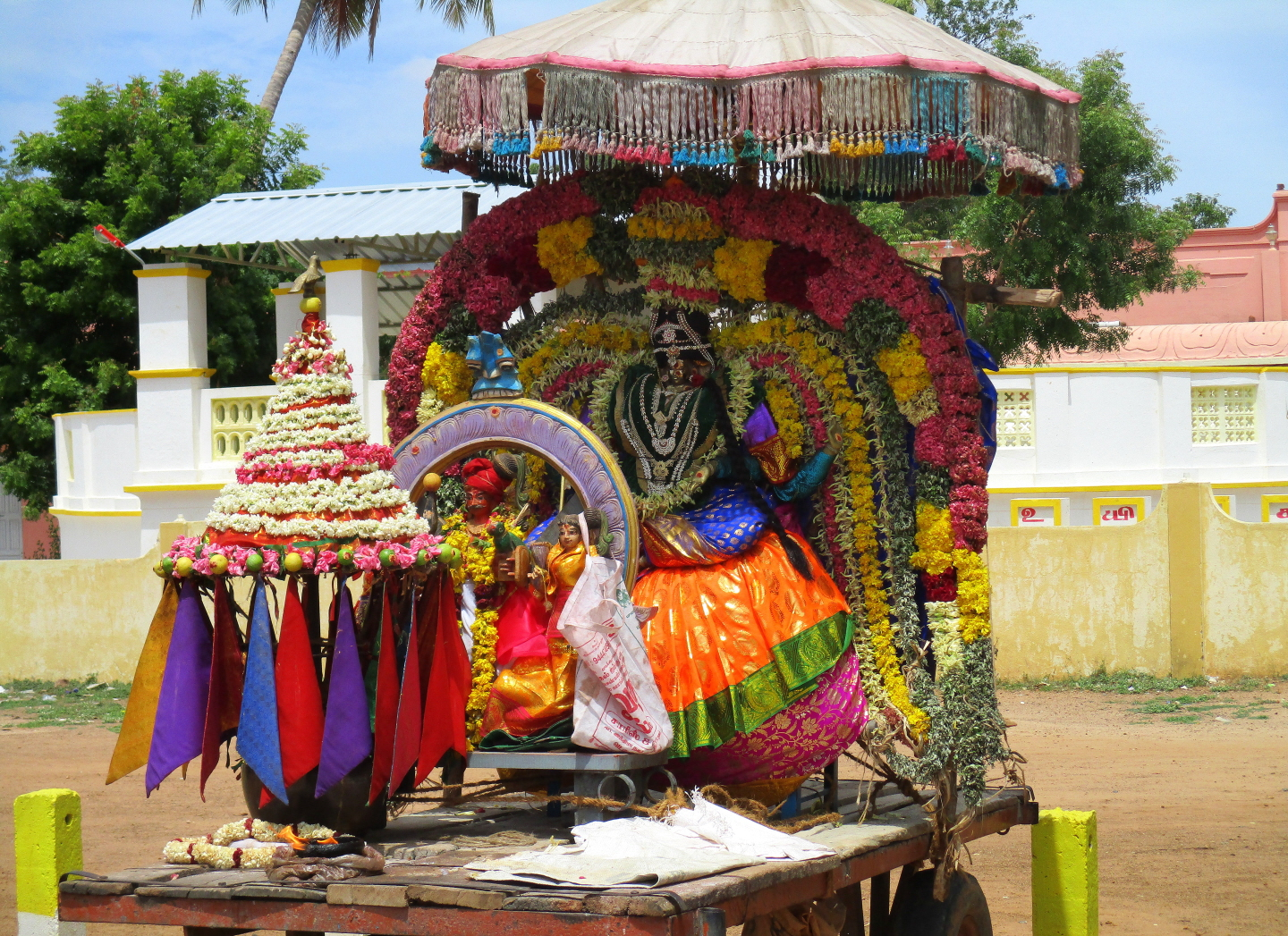 Village Goddess, Vadalur, Tamil Nadu, India